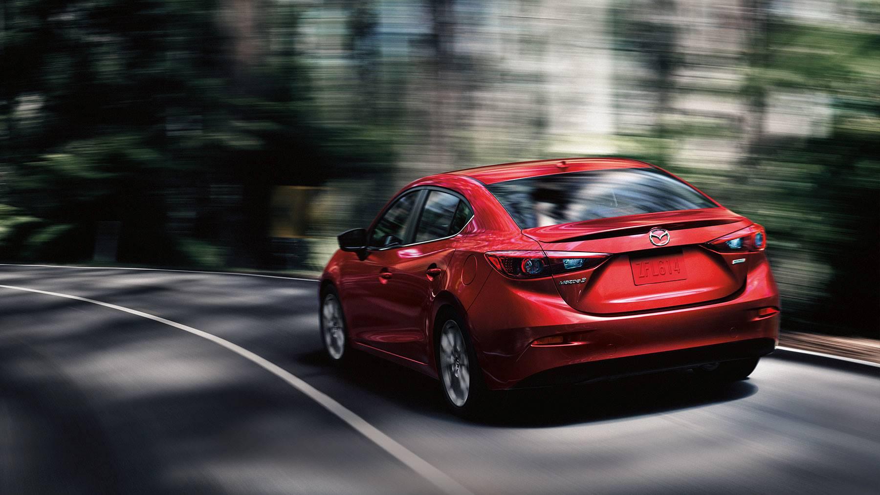 2018 Mazda3 4-door Rear Exterior