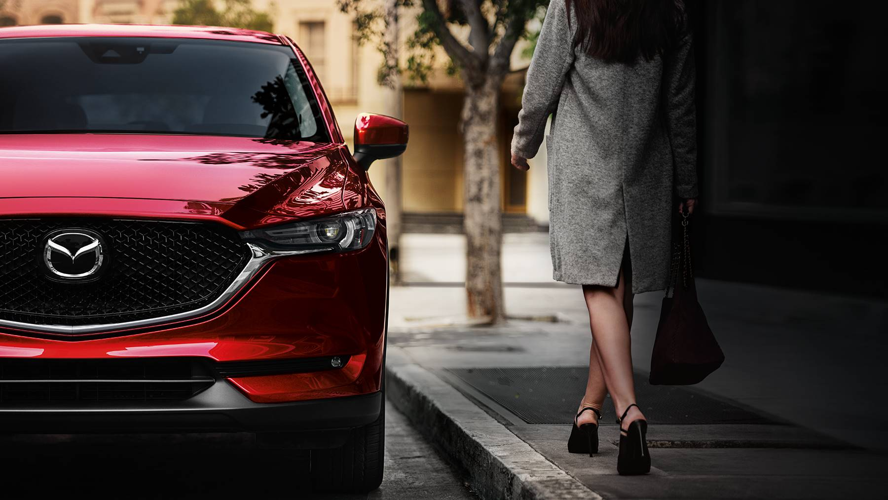2018 Mazda CX-5 Red Front Exterior Detail