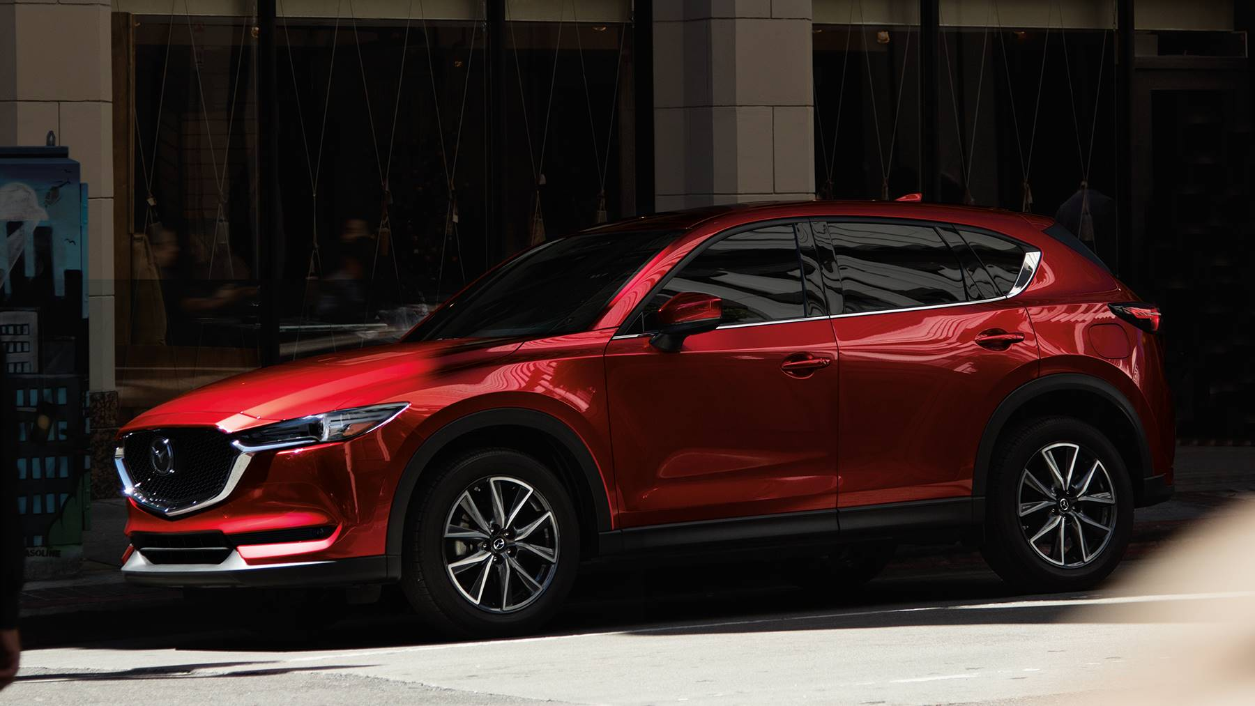 2018 Mazda CX-5 Red Front Exterior