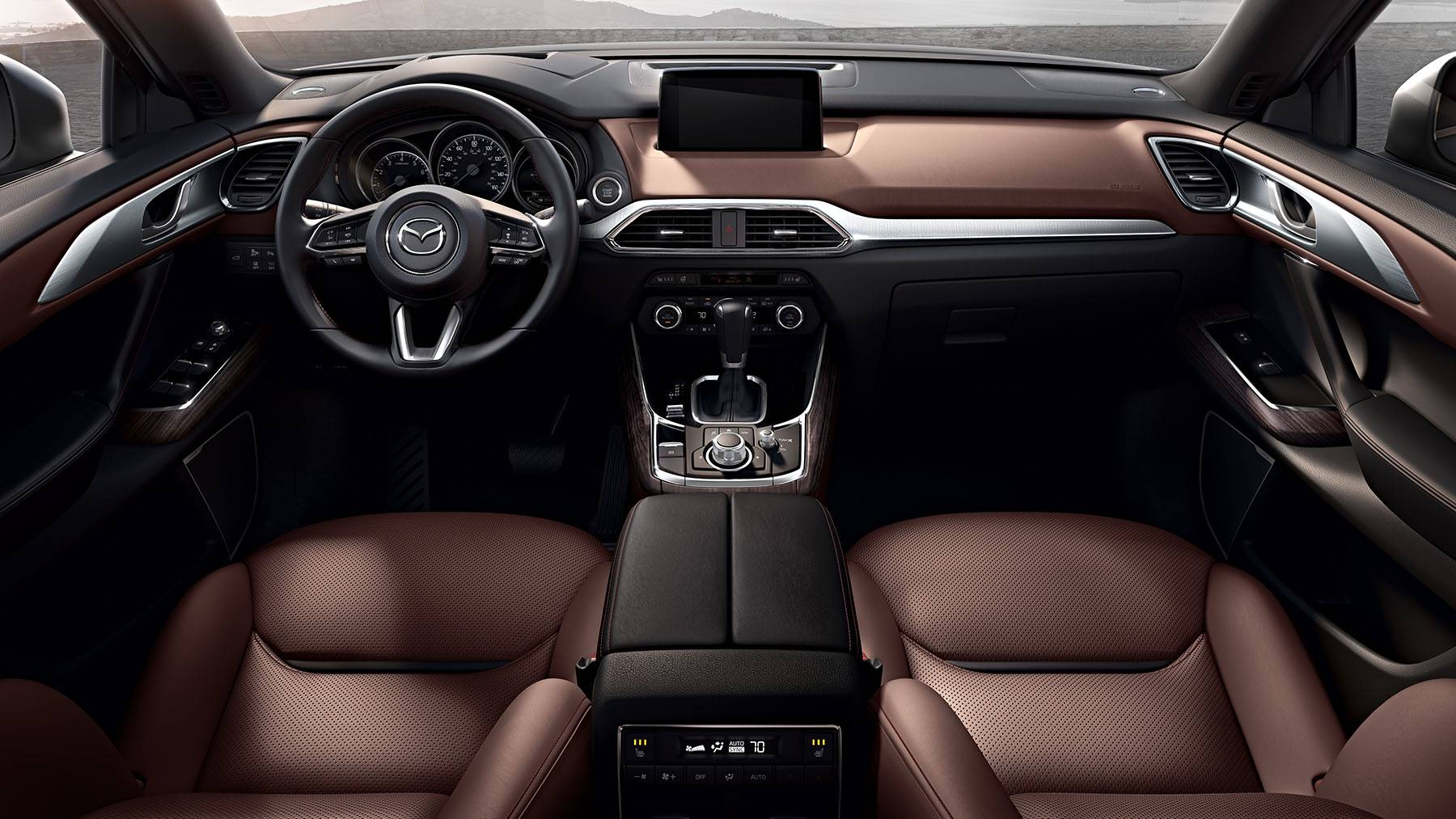 2018 Mazda CX-9 Grand Touring Leather Seating Interior
