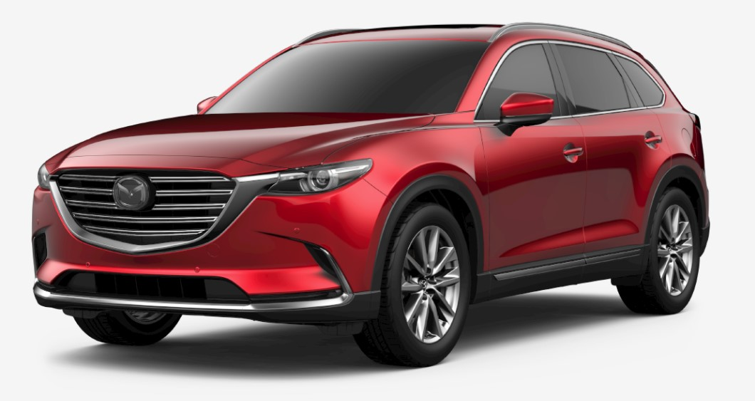 2018 Mazda CX-9 Grand Touring Red Exterior
