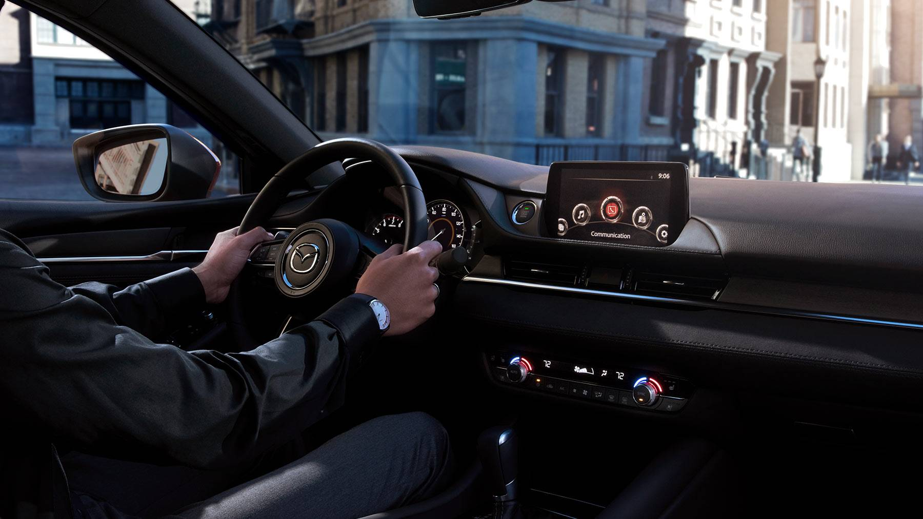 2018 Mazda6 Grand Touring Interior Dashboard