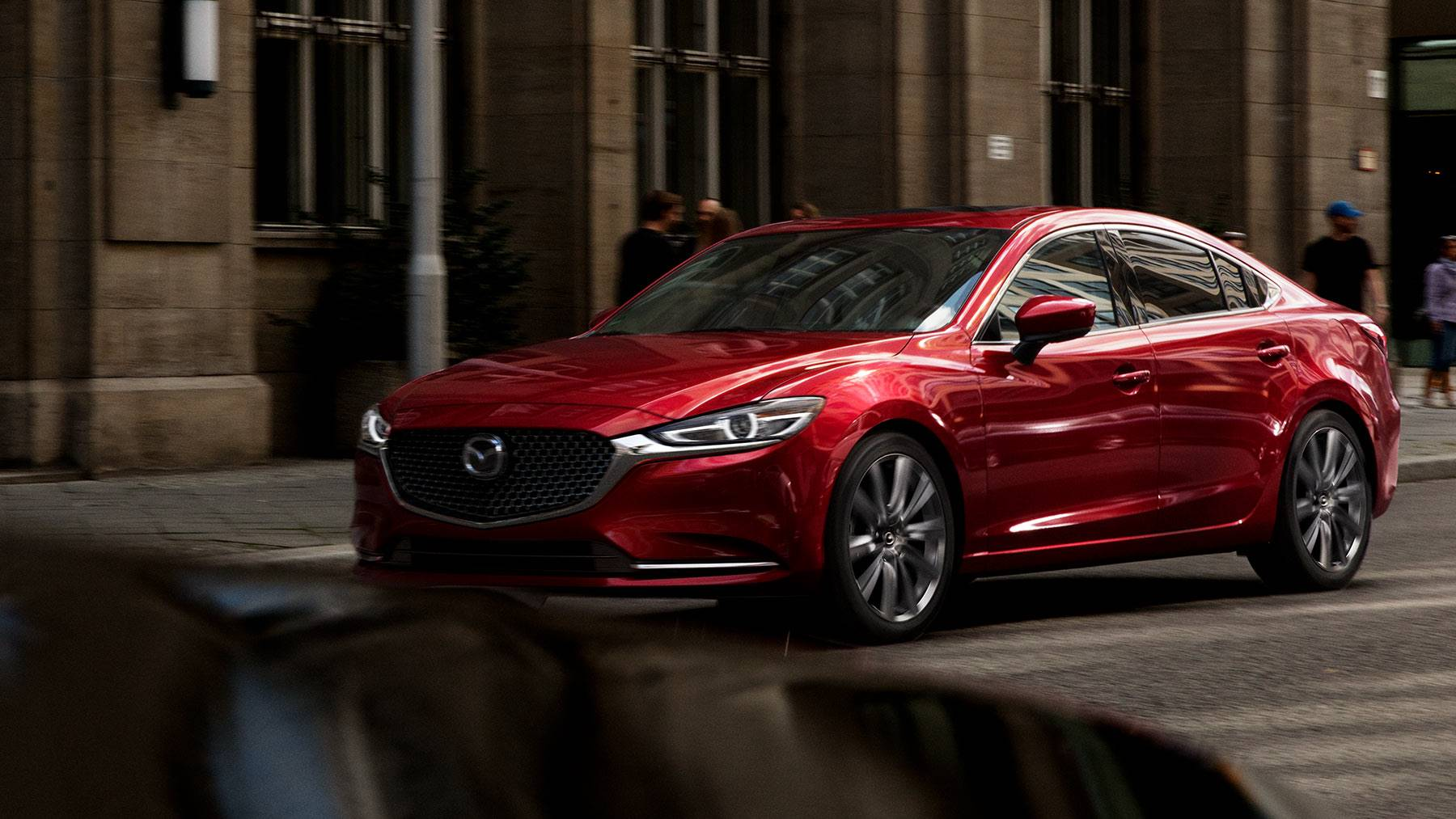 2018 Mazda6 Grand Touring Front Red Exterior