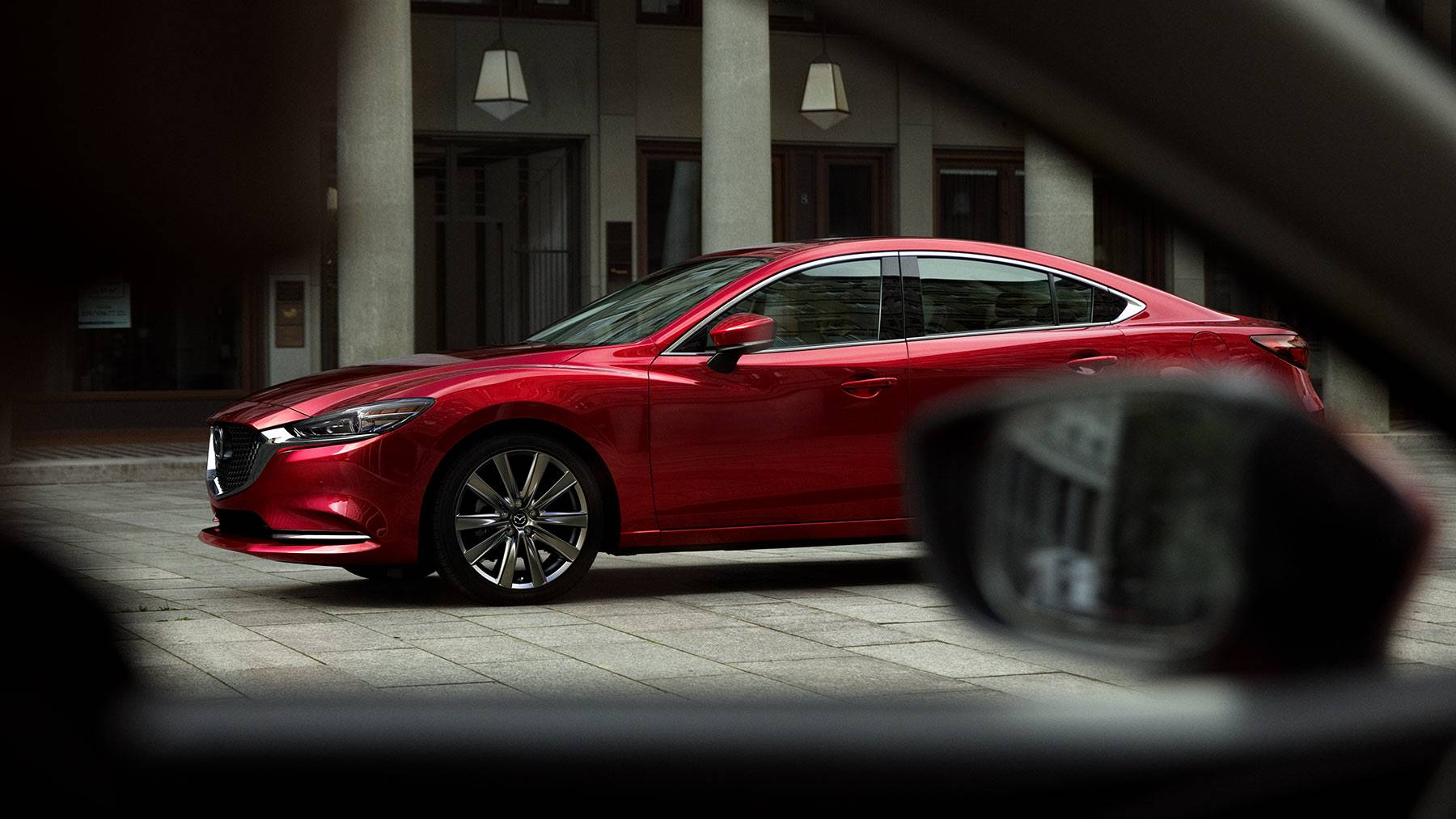 2018 Mazda6 Grand Touring Red Exterior Side View