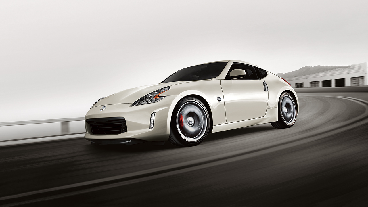 Marvelous 2018 Nissan 370Z Coupe Front White Exterior