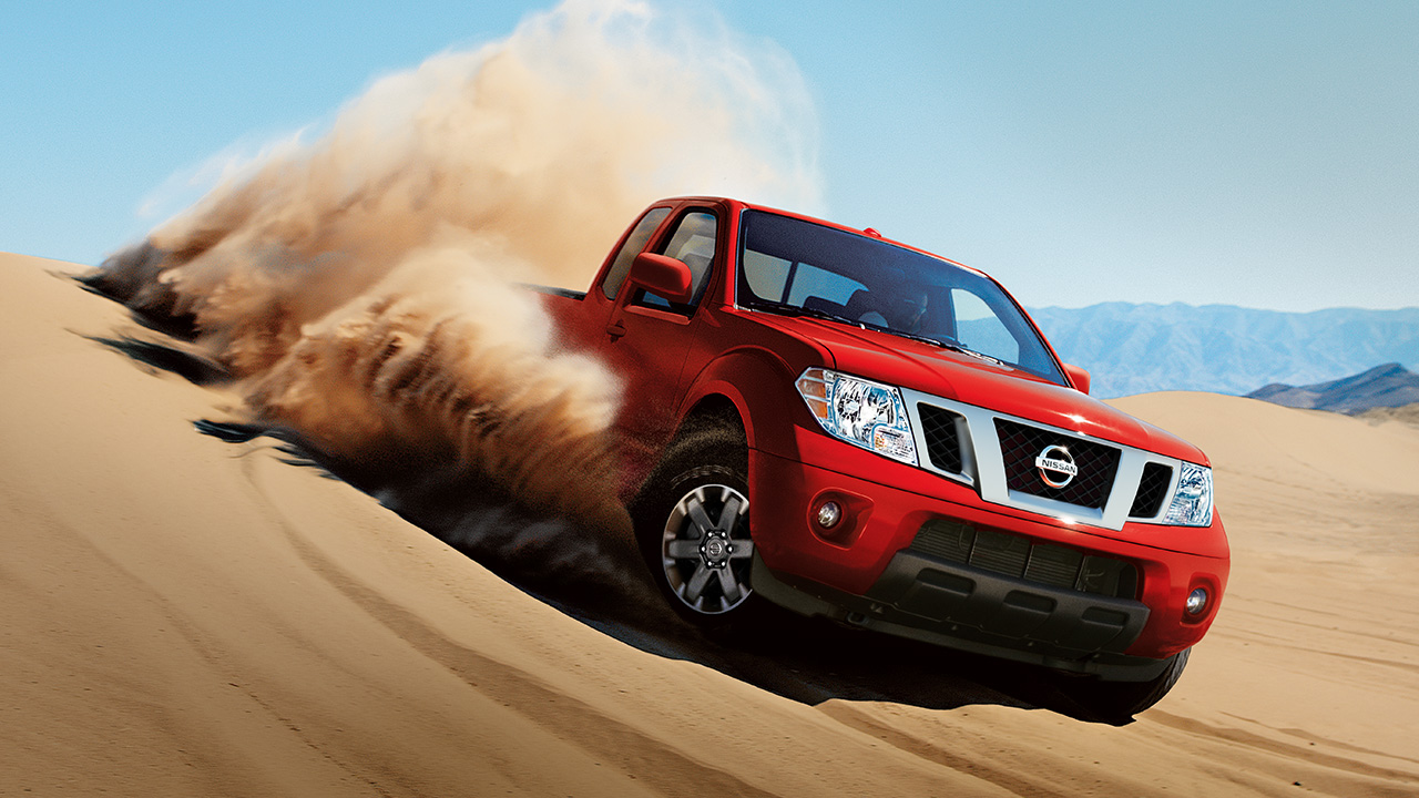 2018 Nissan Frontier Red Off Road Exterior