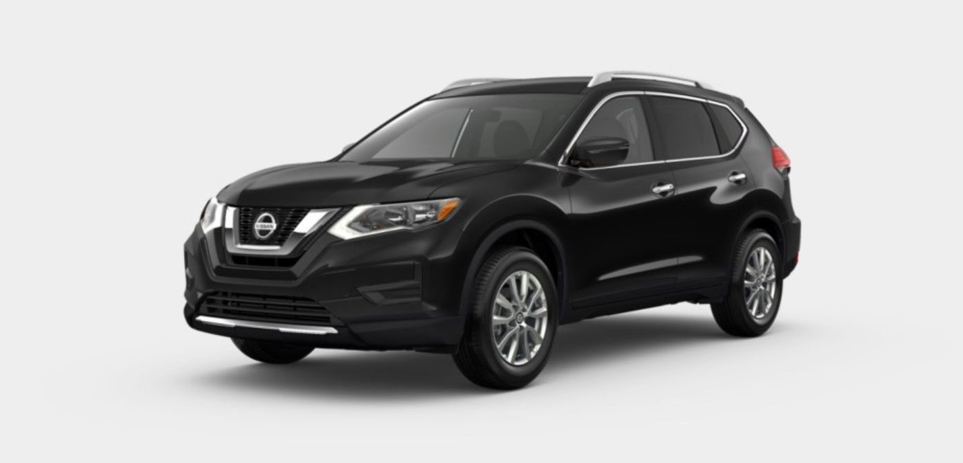 2018 Nissan Rogue FWD SV Front Black Exterior