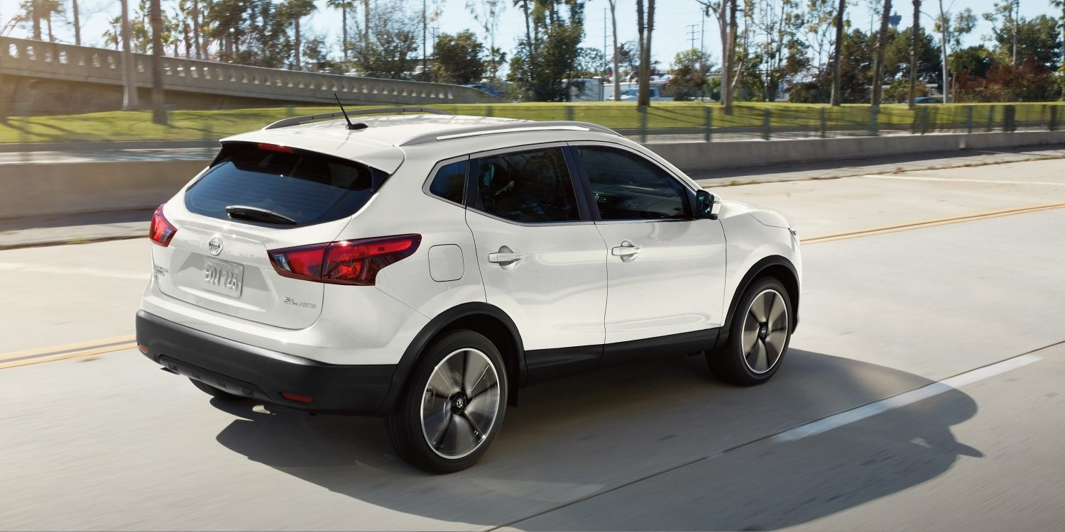 2018 Nissan Rogue Sport Rear White Exterior Picture