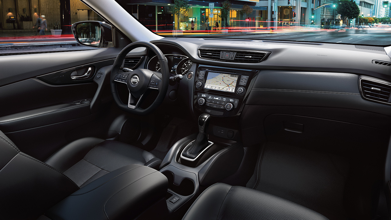 2018 Nissan Rogue Dashboard Interior
