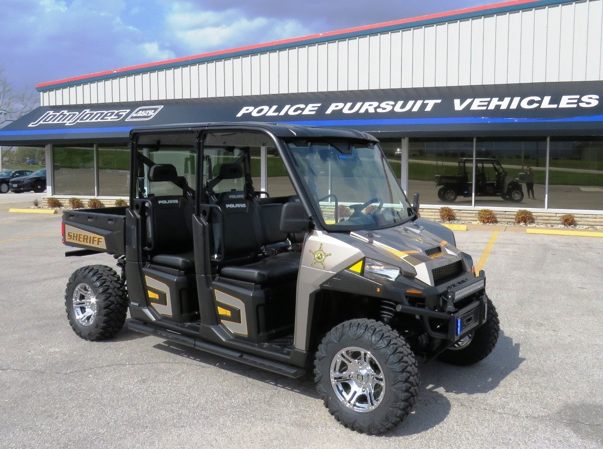 2018 Polaris Police Vehicle Front Exterior