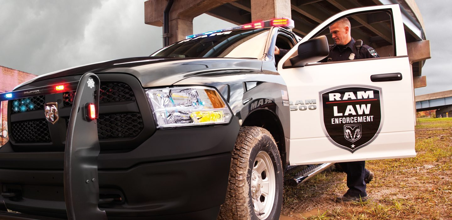 2018 Ram 1500 Special Service Front Police Exterior