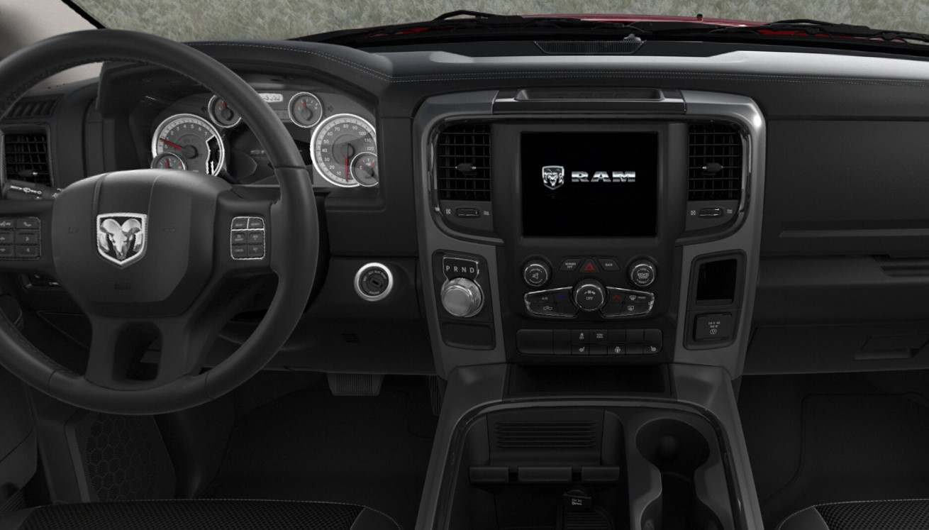 2018 Ram 1500 Sport Dashboard Interior