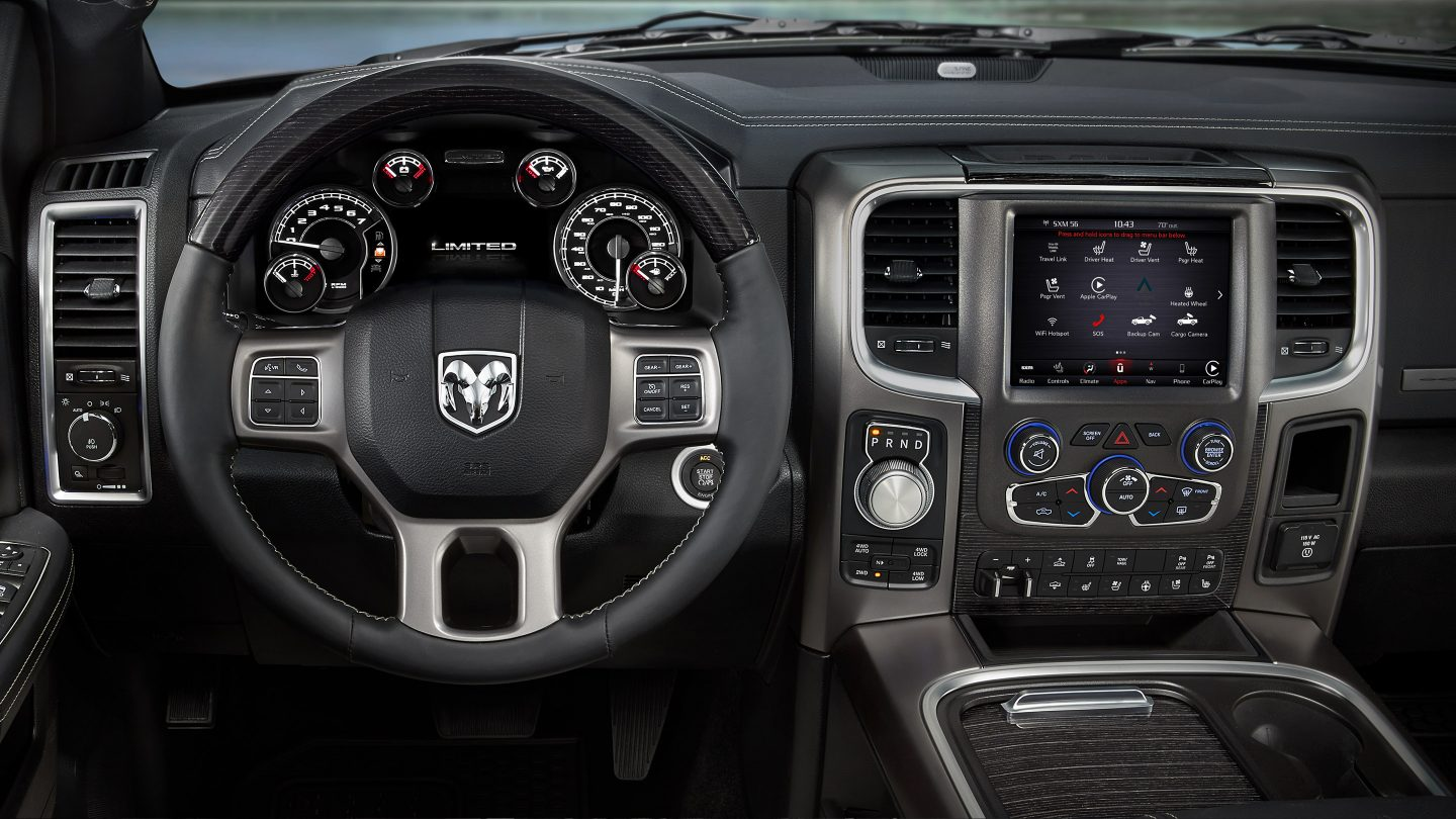 2018 Ram 1500 Front Dashboard Interior