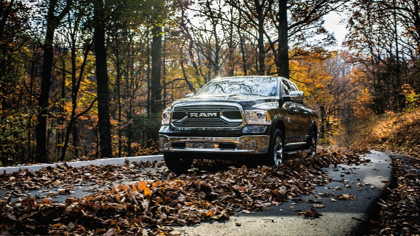 2018 Ram 1500 Front Forest Driving Exterior