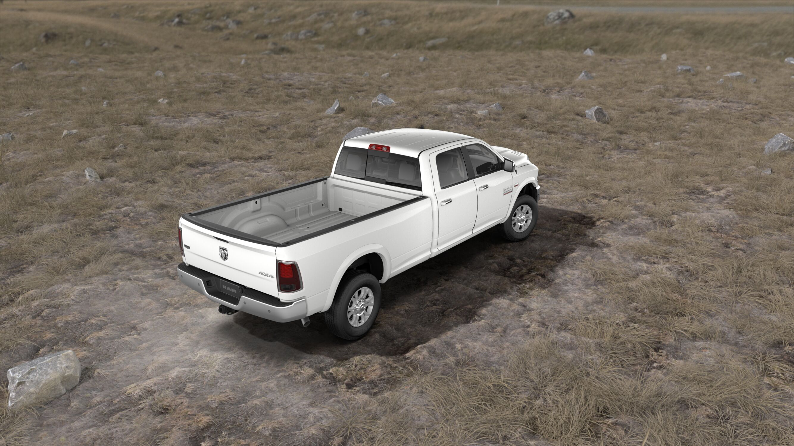 2018 Ram 2500 Tradesman Rear White Exterior