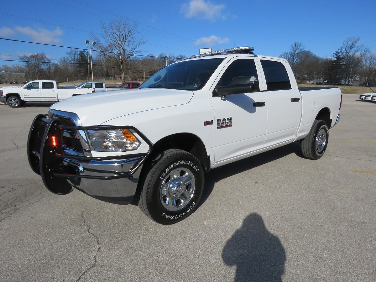 2018 Ram 2500 with Police Upfit Front Side White Exterior