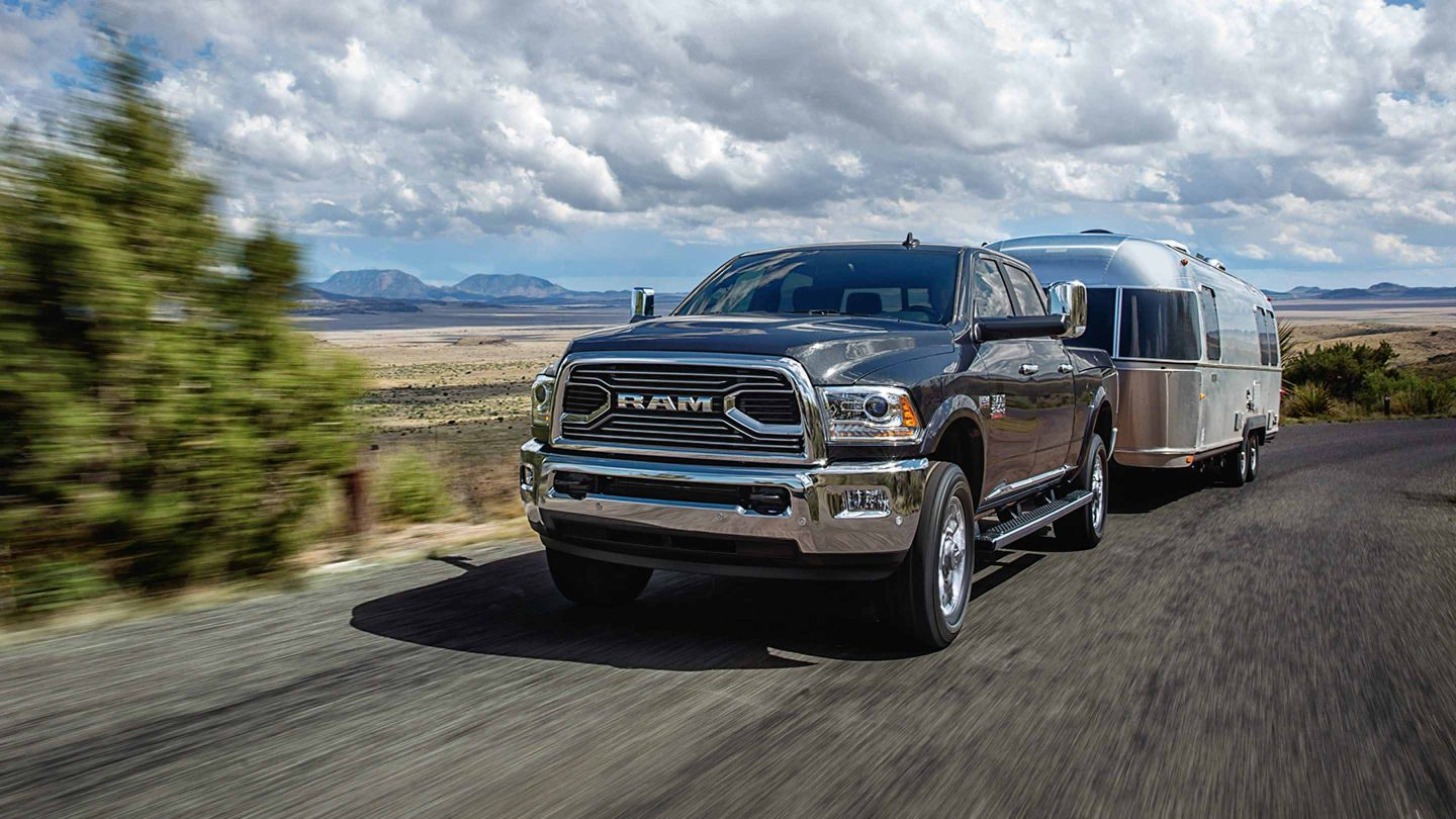 2018 Ram 2500 Front Black Exterior Towing