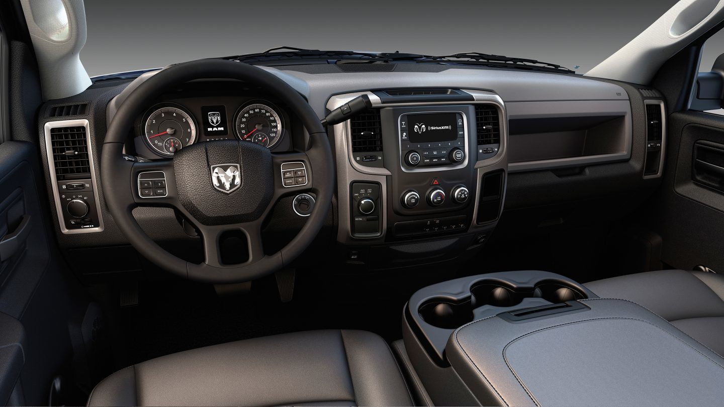 2018 Ram 3500 Chassis Cab Front Interior Dashboard
