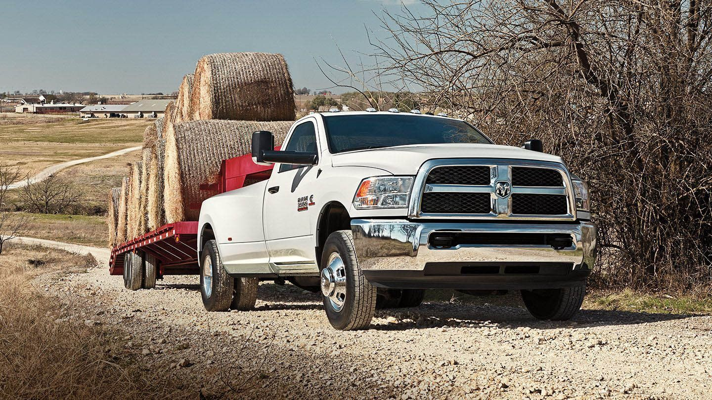2018 Ram 3500 Comparison Elder Chrysler Athens Tx 1980 Dodge Truck Brochure Hauling Exterior