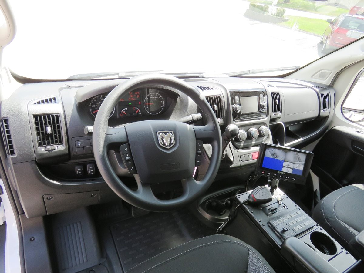 Picture of 2018 Ram Prisoner Transport Black Interior 2