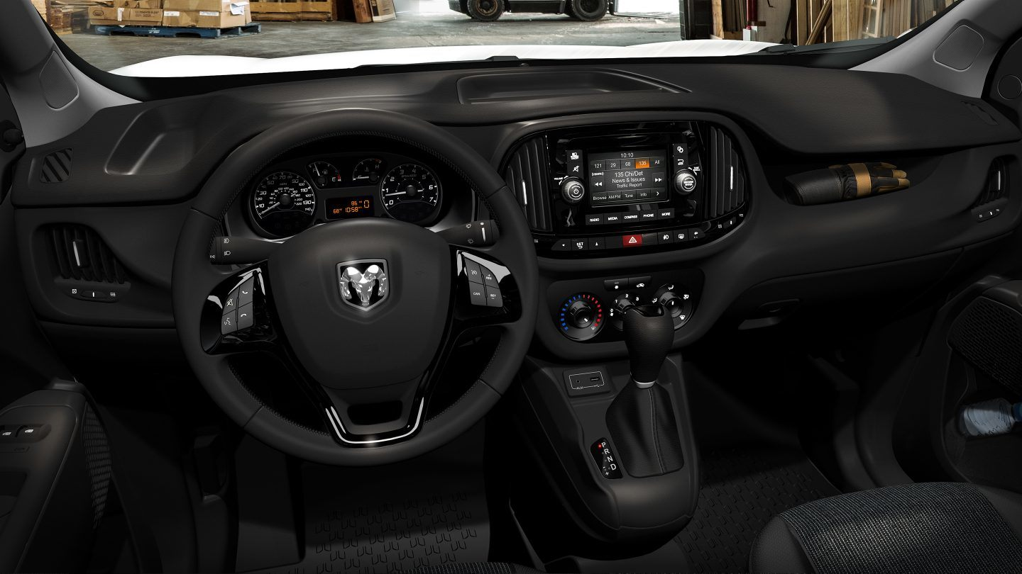 2018 Ram ProMaster City Dashboard Interior