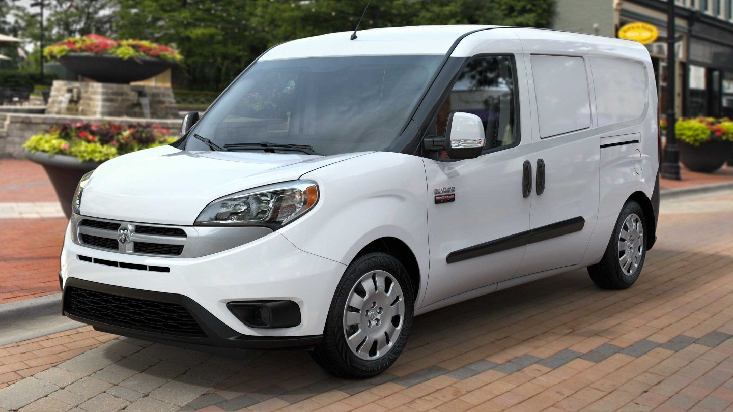 2018 Ram ProMaster City Front White Exterior