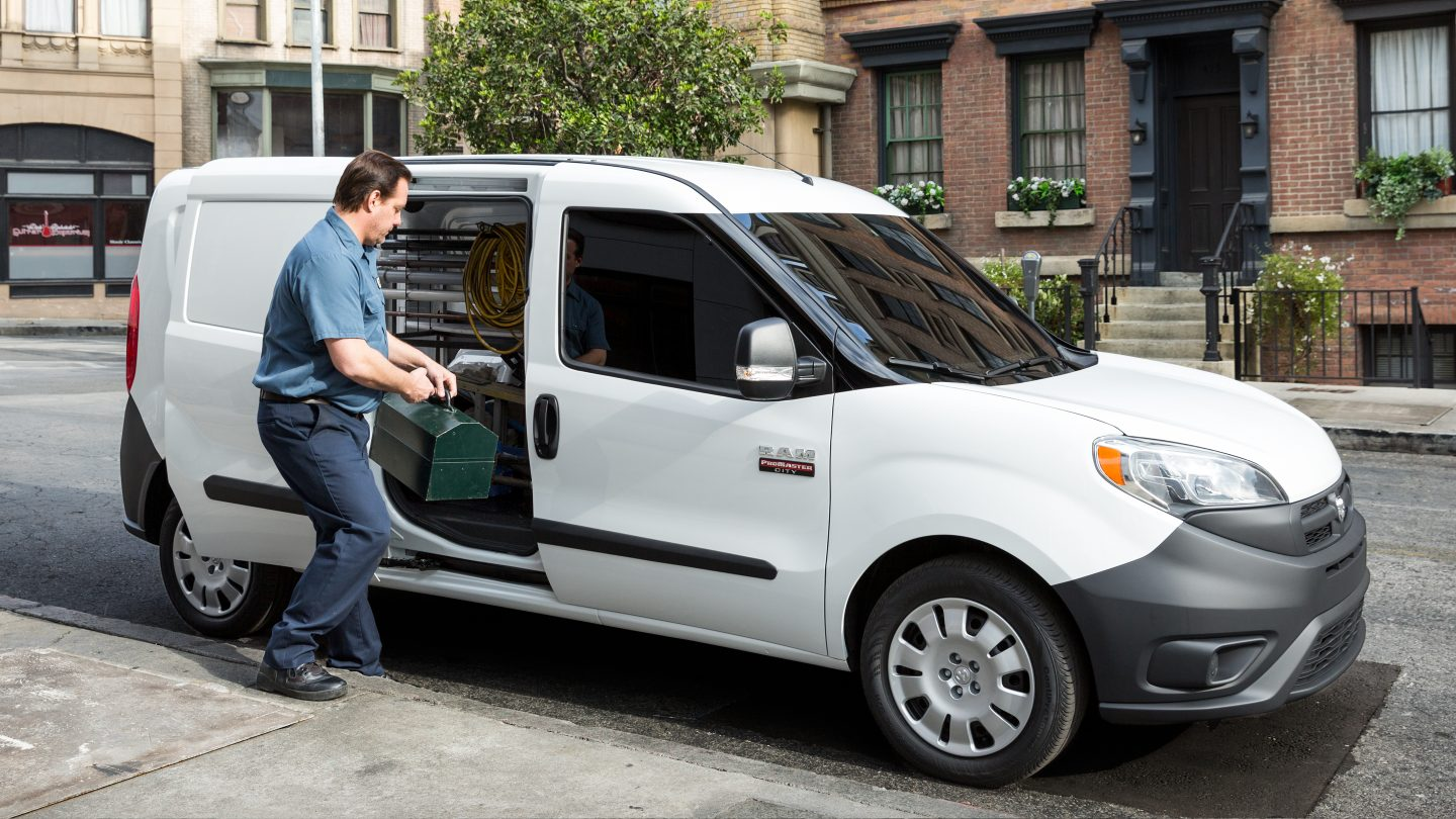2018 Ram ProMaster City Working Exterior