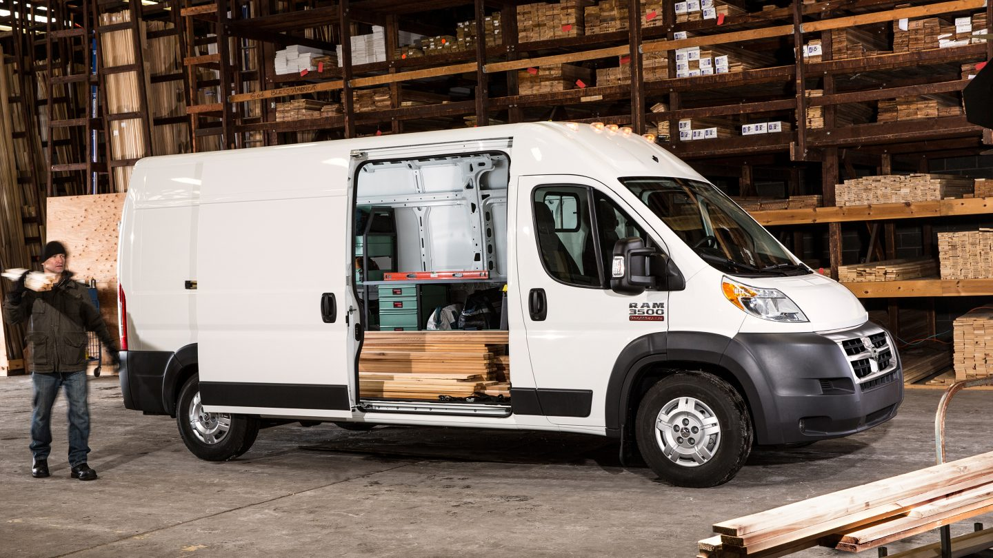 2018 Ram ProMaster Van City Working Side Exterior