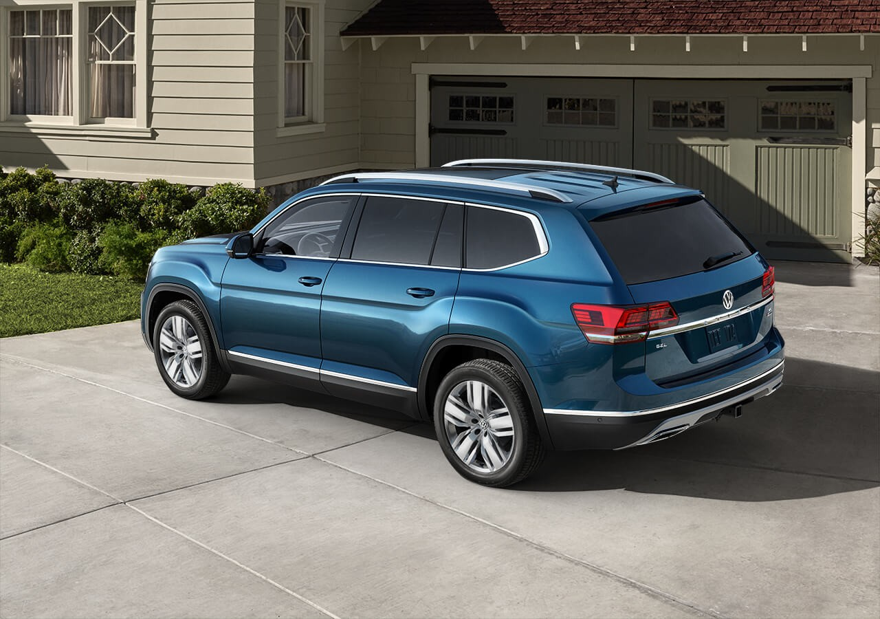 2018 Volkswagen Atlas Exterior Side