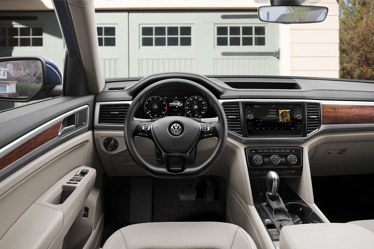 2018 Volkswagen Atlas Interior Dashboard
