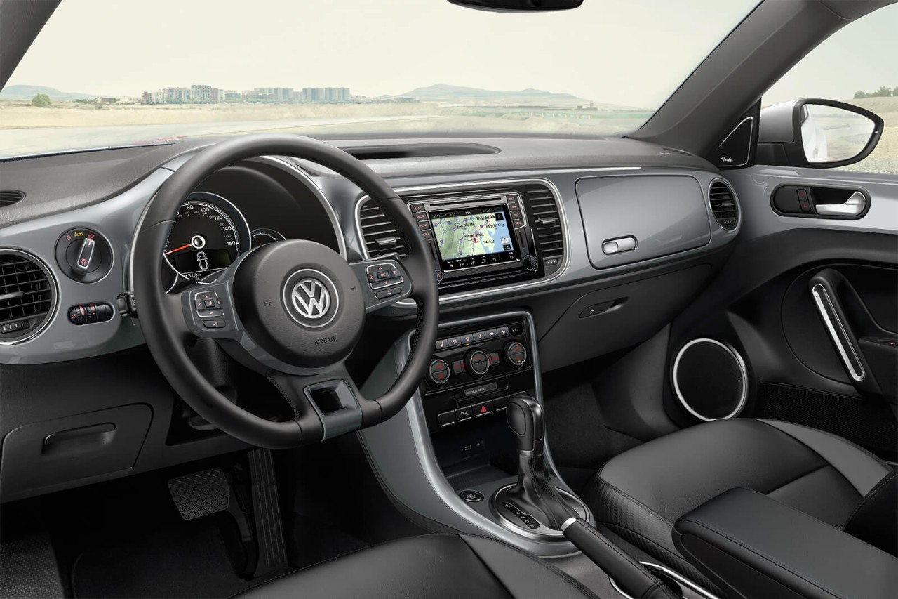 2018 Volkswagen Beetle Convertible Dashboard Interior