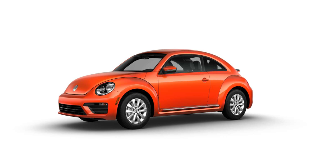 2018 Volkswagen Beetle S Habanero Orange Exterior Front View Pictrue.png