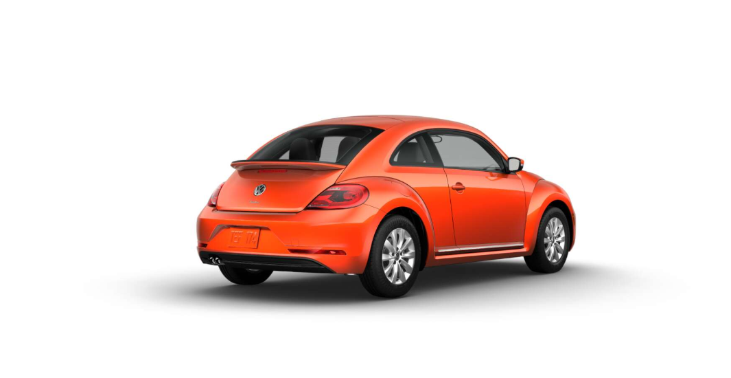 2018 Volkswagen Beetle S Habanero Orange Exterior Rear View Pictrue.png
