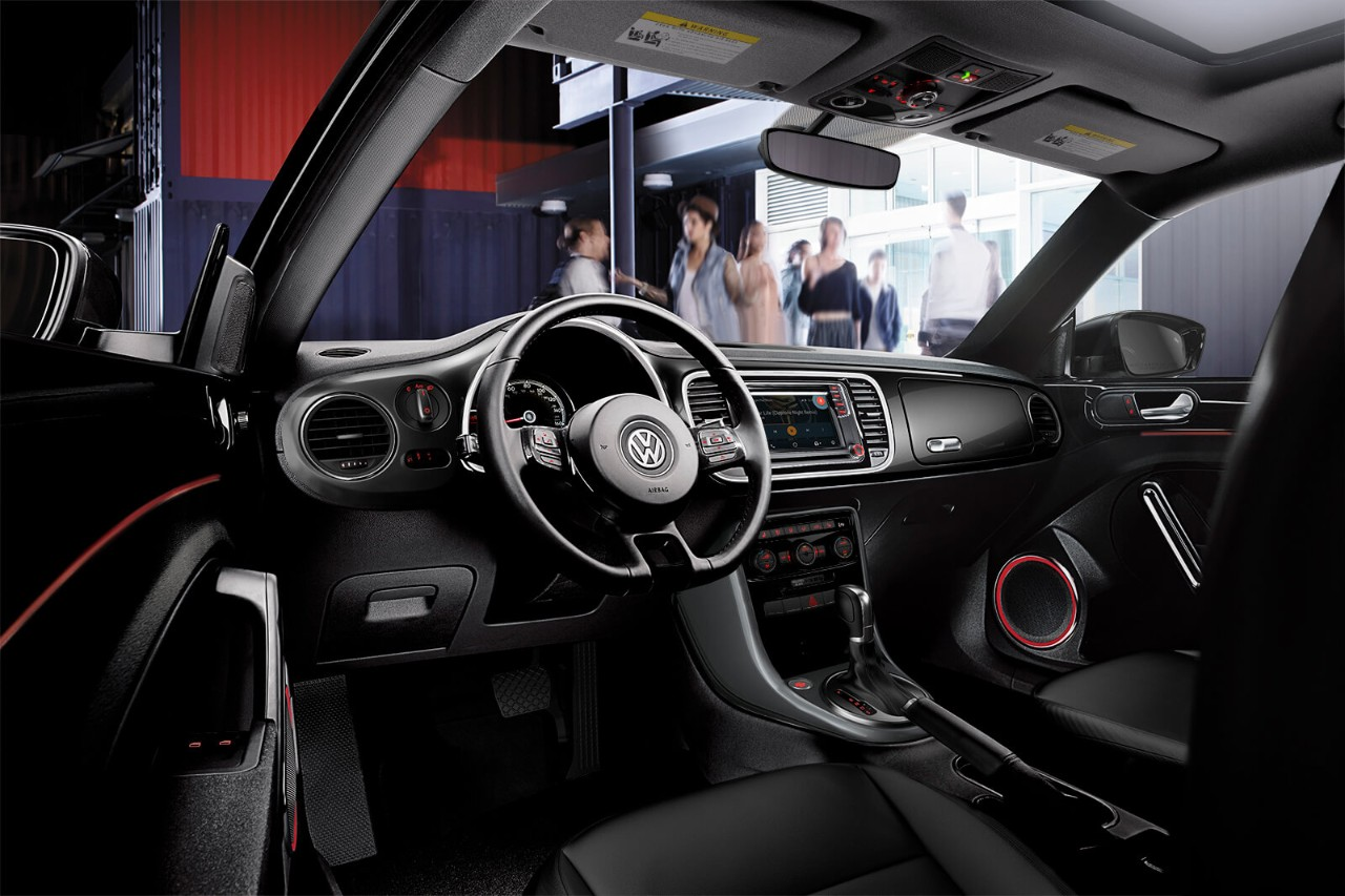 2018 Volkswagen Beetle Dashboard Interior