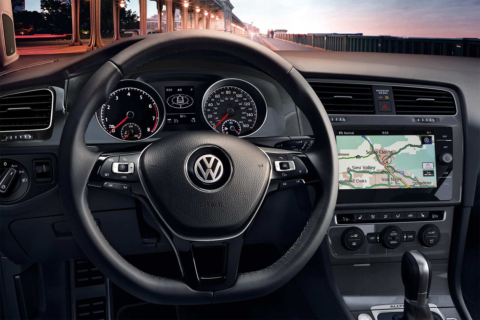 2018 Volkswagen Golf Alltrack Dashboard Interior