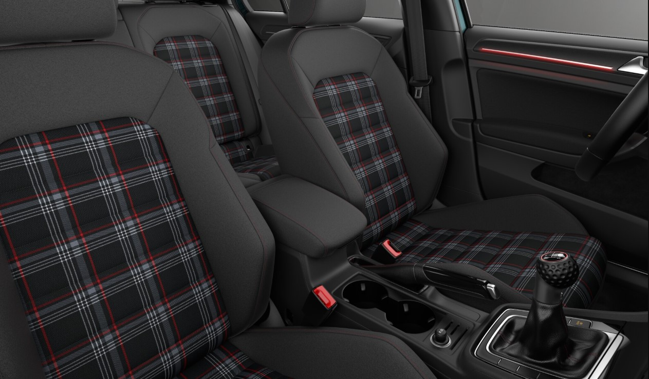 2018 Volkswagen Golf GTI S Seating Interior Picture