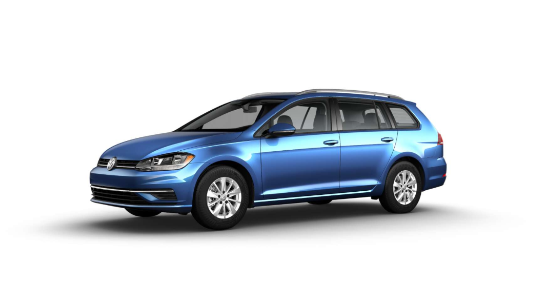 2018 Volkswagen Golf SportWagen S Silk Blue Exterior Side View Picture.png