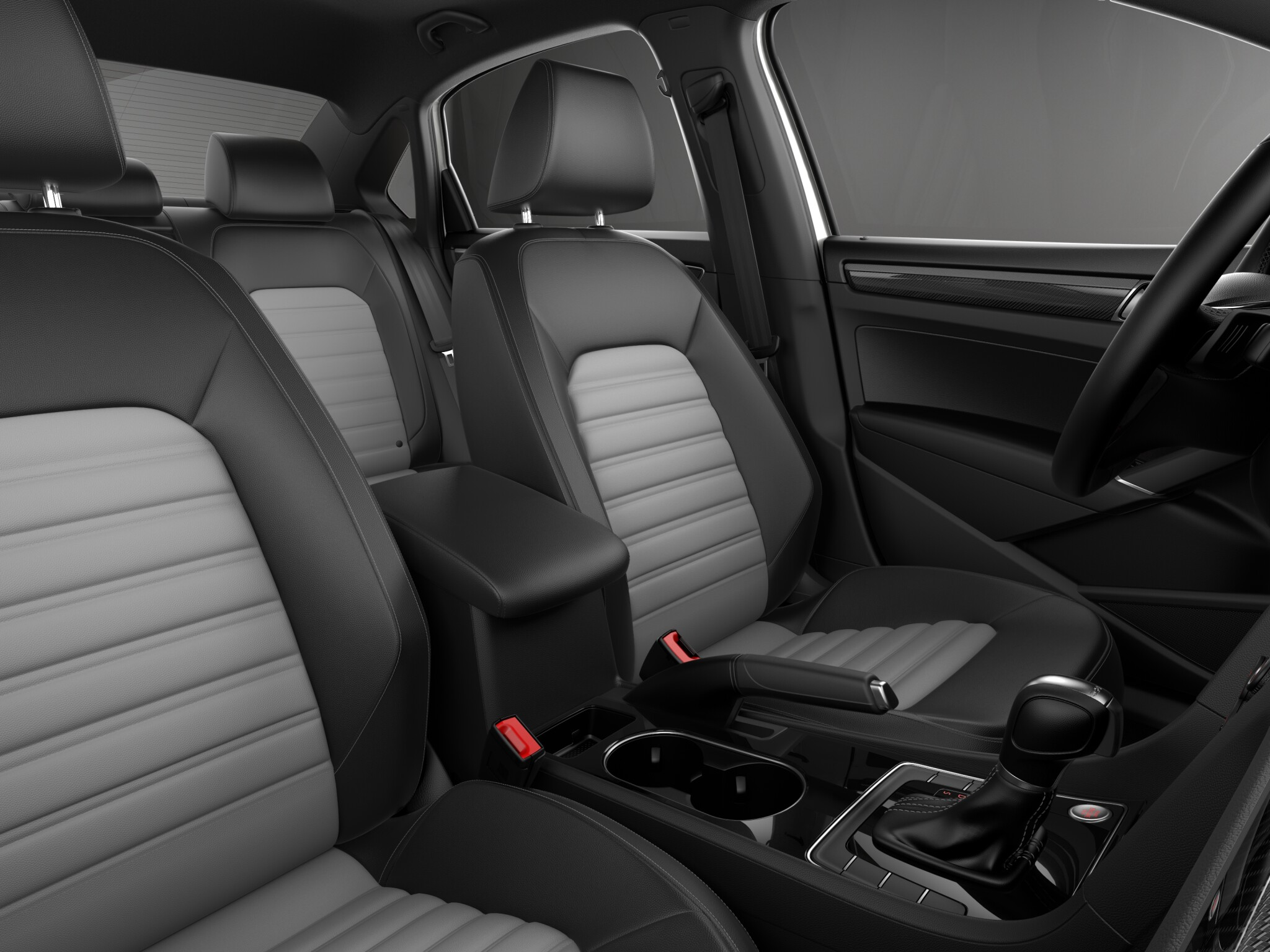 2018 Volkswagen Passat Interior Seating Picture
