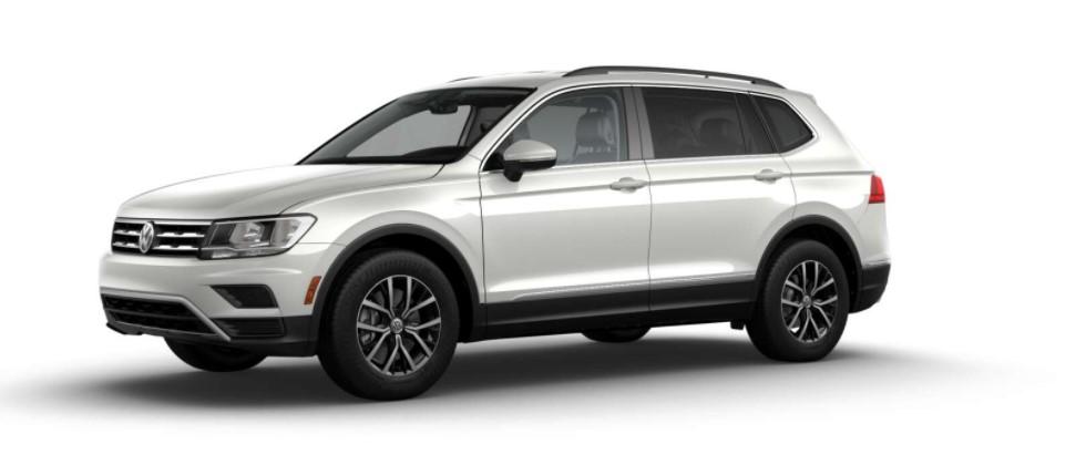 2018 Volkswagen Tiguan SE 4Motion Front White Exterior