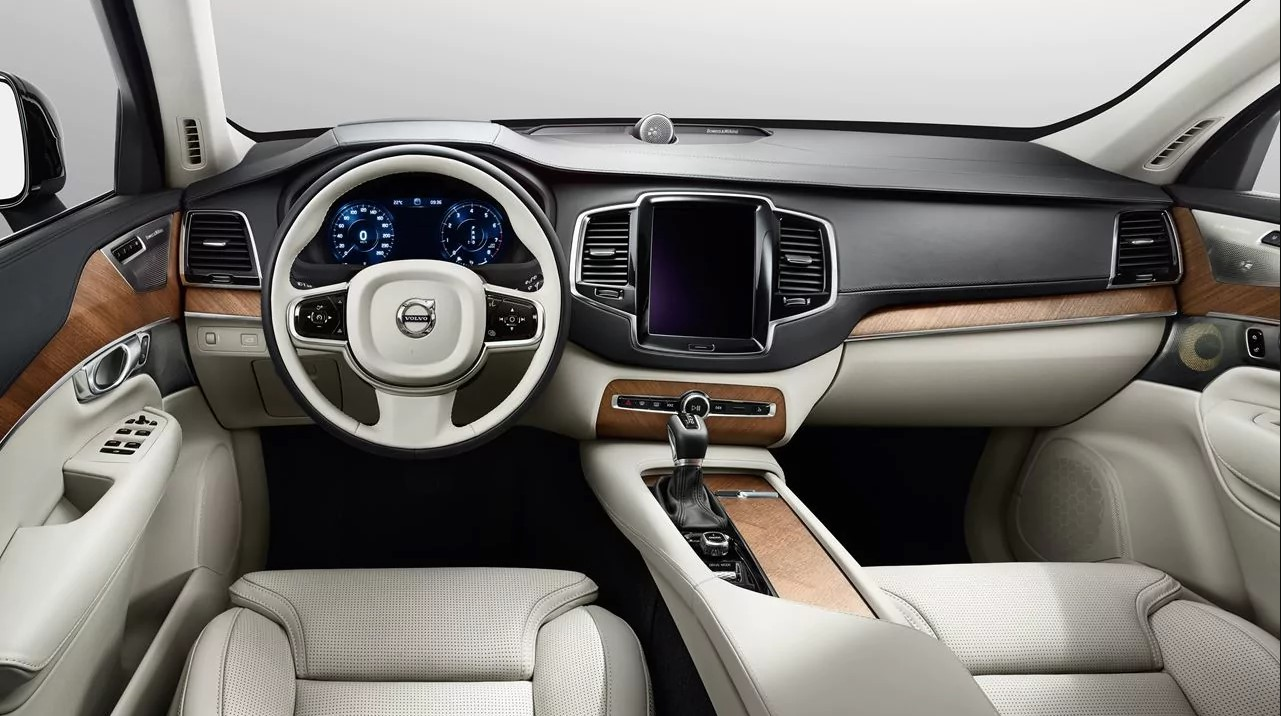 2018 Volvo XC90 Front Dashboard Interior