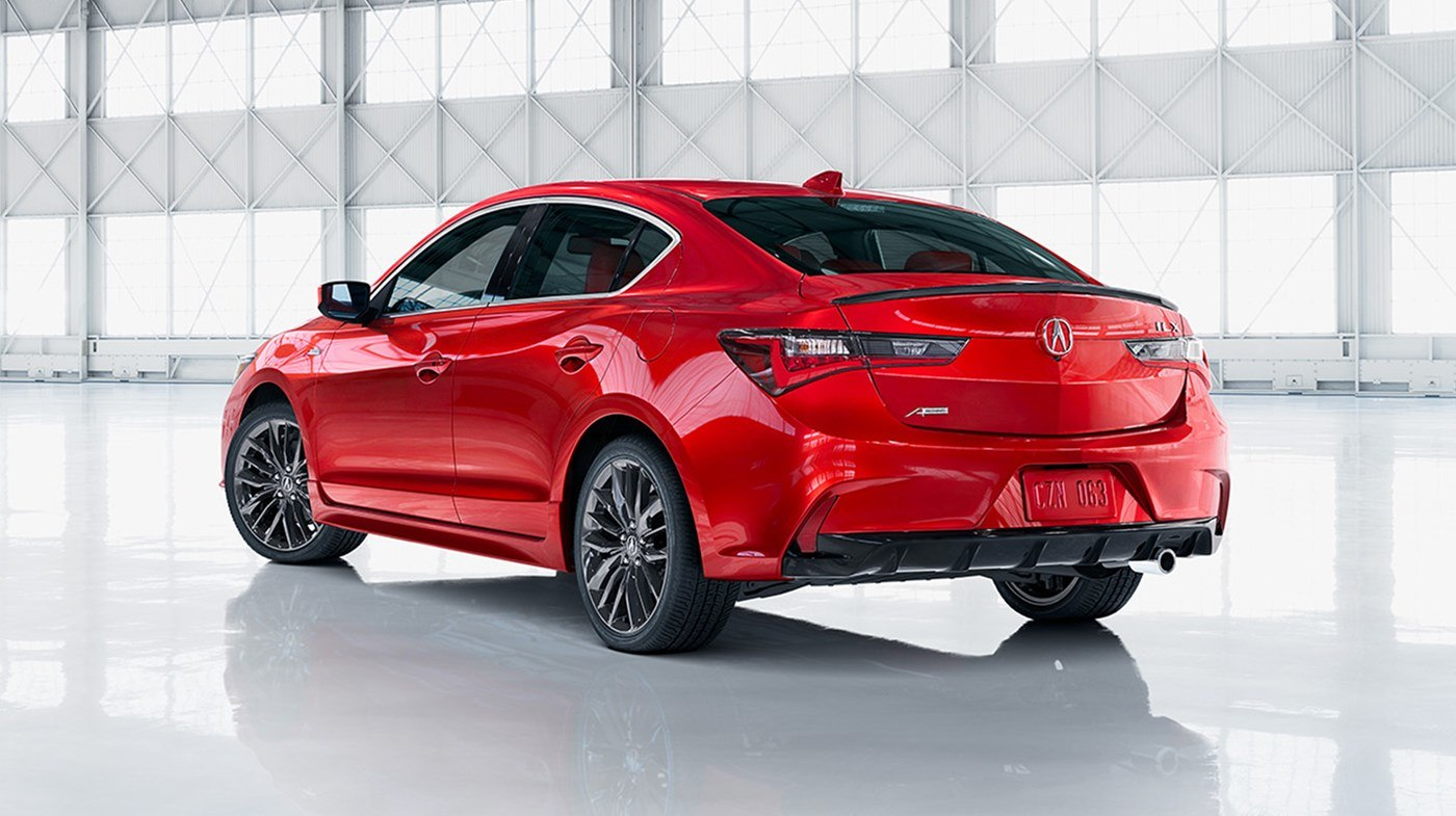 2019 Acura ILX Red Rear Exterior