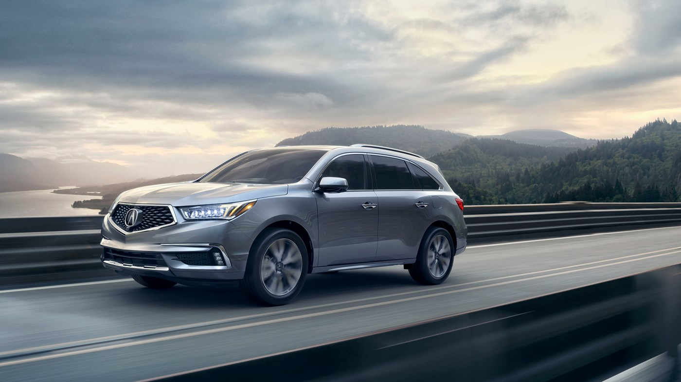 2019 Acura MDX Silver Exterior Side View Picture