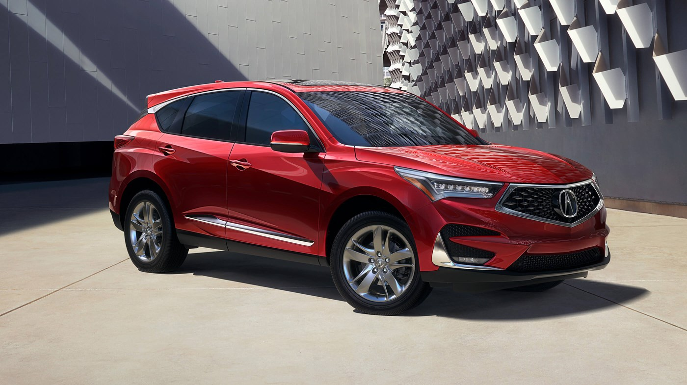 2019 Acura RDX with Advance Package Performance Red Pearl Exterior Picture