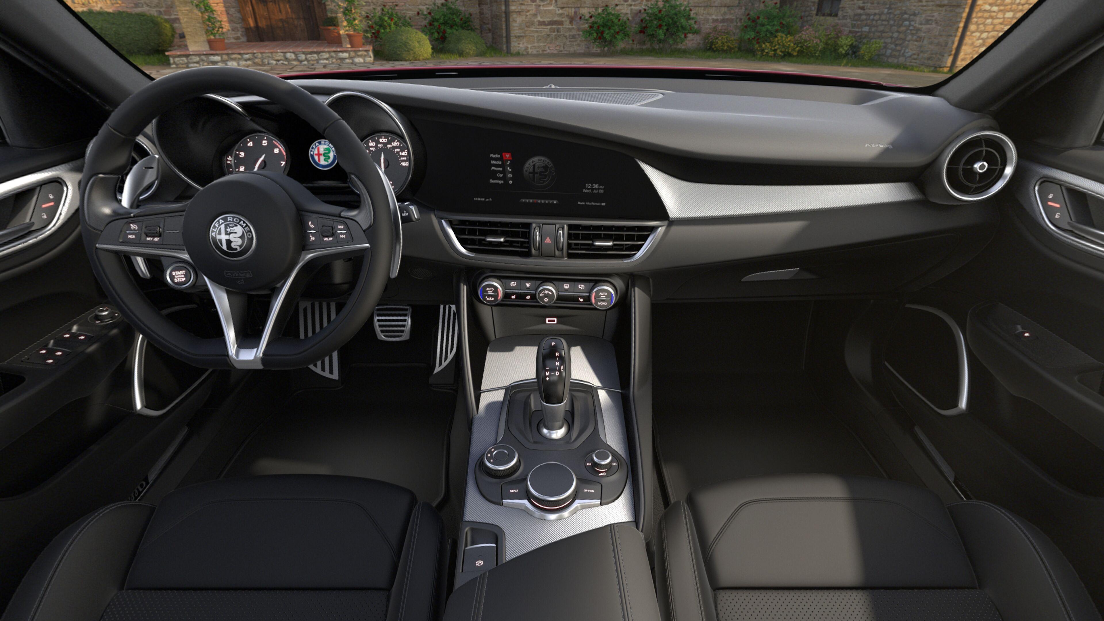 Alfa Romeo Giulia Interior >> 2019 Alfa Romeo Giulia Ti Sport Rwd Alfa Romeo Of Ontario