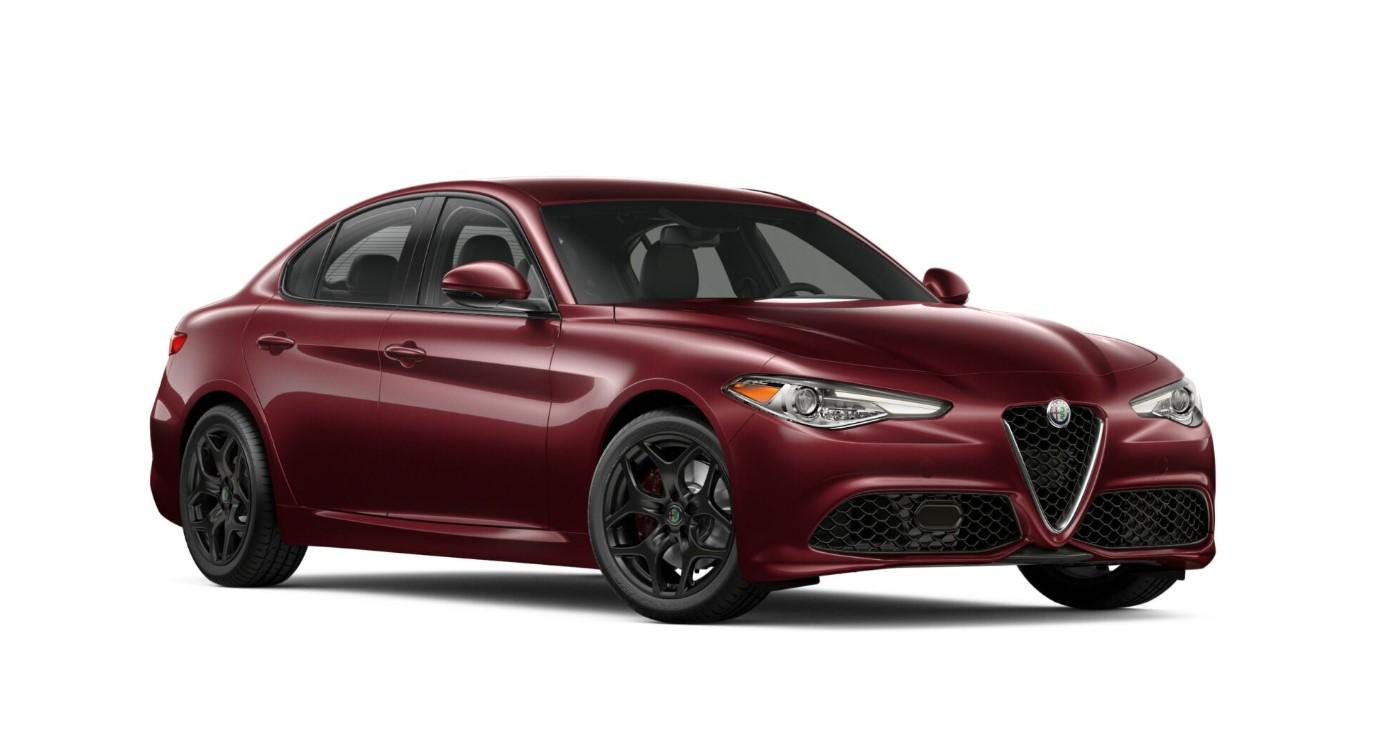 2019 Alfa Romeo Giulia Sport AWD Red Exterior Front View
