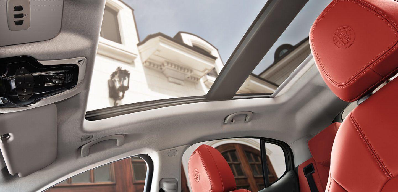 2019 Alfa Romeo Stelvio AWD Interior Moonroof Detail Picture