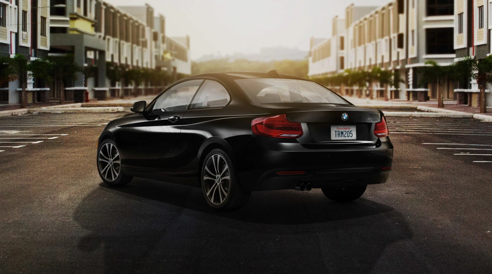 2019 BMW 2 Series 230i Rear Black Exterior