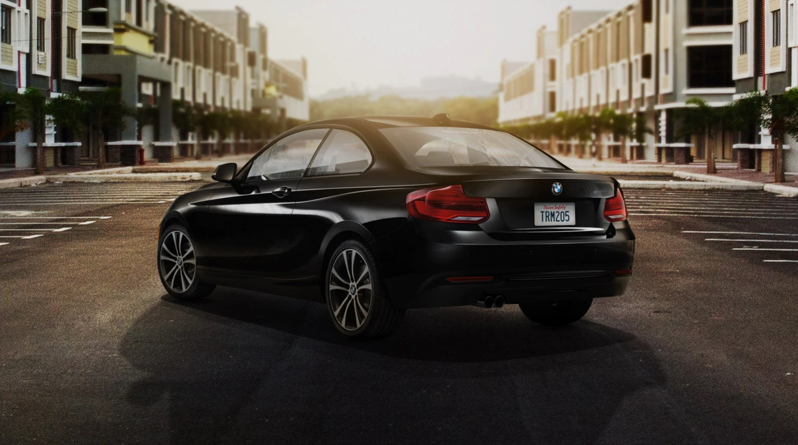 2019 BMW 230i Rear Black Driving Exterior