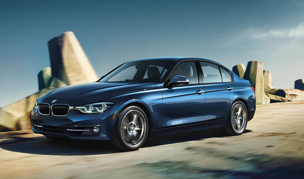 2019 BMW 3 Series Blue Front Exterior