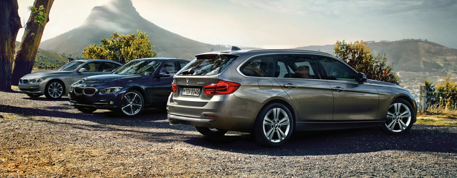 2019 BMW 3 Series Rear Exterior